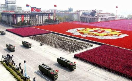 Military Parade, North Korea by babeltravel, on Flickr