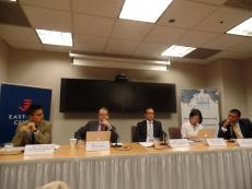 From left to right: Dr. Huang, Dr. Gill, Dr. Medieros, Dr. Goh, and Dr. Limaye