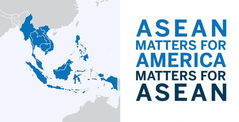 Cover for ASEAN Matters for America/America Matters for ASEAN. Image: Top Shelf Design