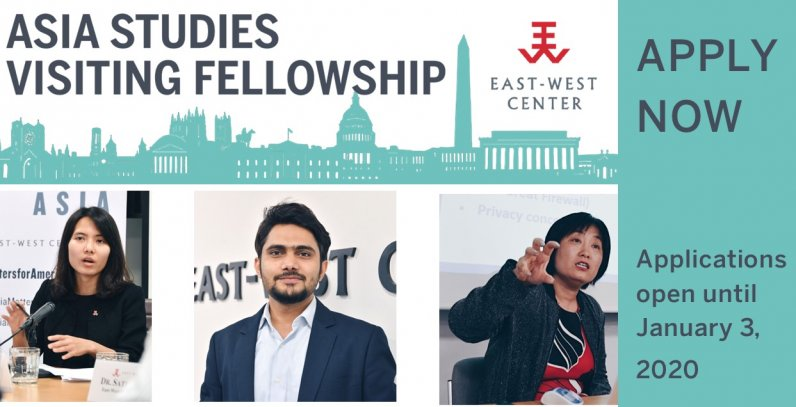 Apply now for the Asia Studies Visiting Fellowship in Washington, DC