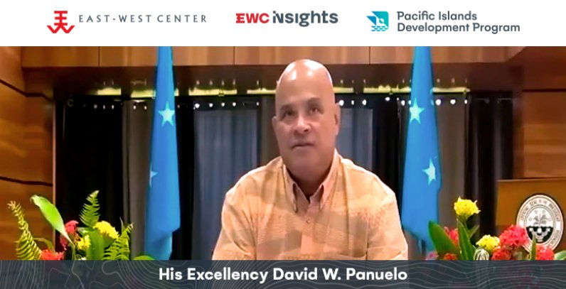 EWC Insights featuring Pacific Leaders inaugural episode featuring Federated States of Micronesia President David Panuelo video recording