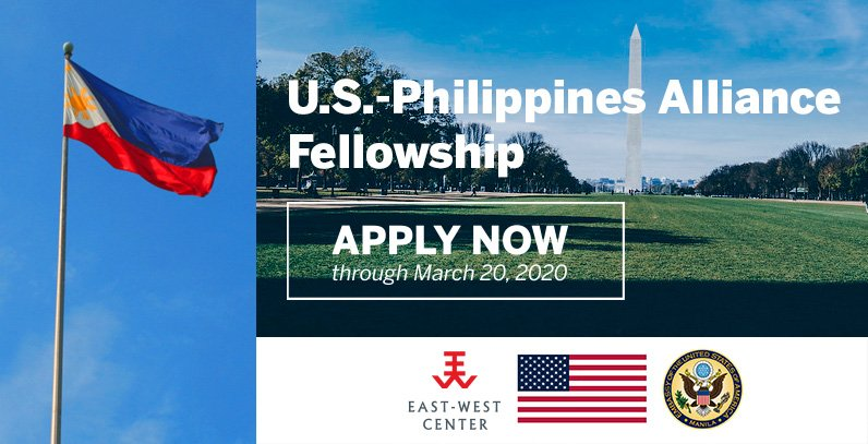 Apply now for the The U.S.-Philippines Alliance Fellowship in Washington, DC