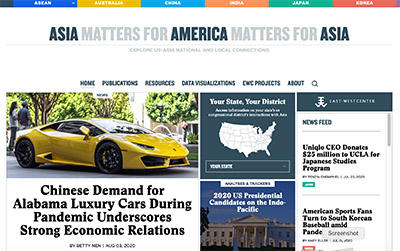 Asia Matters for America Website