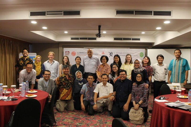 Training of Trainers on human rights with Judicial Training Center of the Indonesian Supreme Court, 18-19 July 2019
