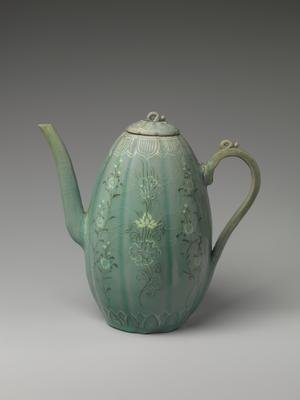 Image of wine ewer from Goryeo Dynasty
