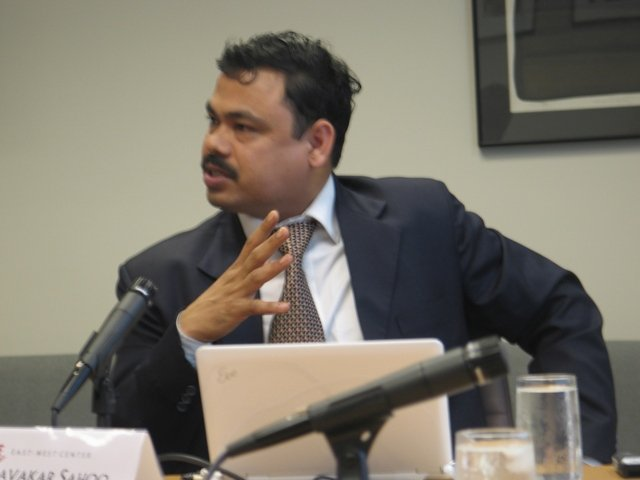 Pravakar Sahoo at the EWCW