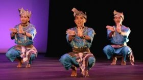 ASK dance company from Malaysia