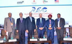 Opening speakers at South Asia connectivity conference