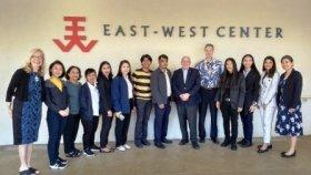 Thai journalists at the East-West Center