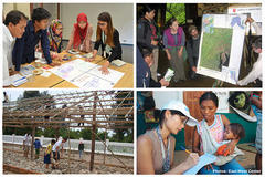 Image collage of EWC human capital activities