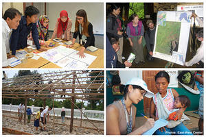 Collage of East-West Center human capital projects