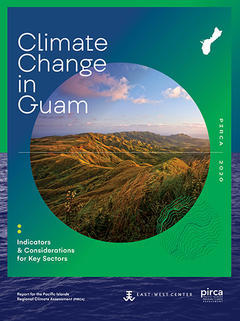 Climate Change in Guam report cover