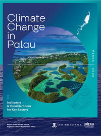 Palau climate change report cover image