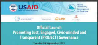 PROJECT Governance launch event graphic