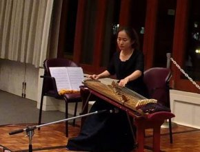 Hae-in Lee plays Kayagum