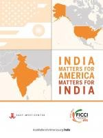 Cover of India Matters for America/America Matters for India