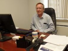 Dr. Patrick Kilby in his office at the East-West Center in Washington. Image: Karen Mascarinas, Research Intern