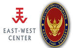 Left to right: East-West Center and Royal Thai Embassy logos