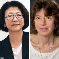 Left to right: Dr. Saori Katada and Dr. Ellen Frost