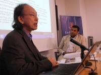 Left to right: Kavi Chongkittavorn and Dr. Satu Limaye