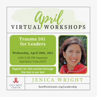 Trauma Awareness 101 for Leaders flyer