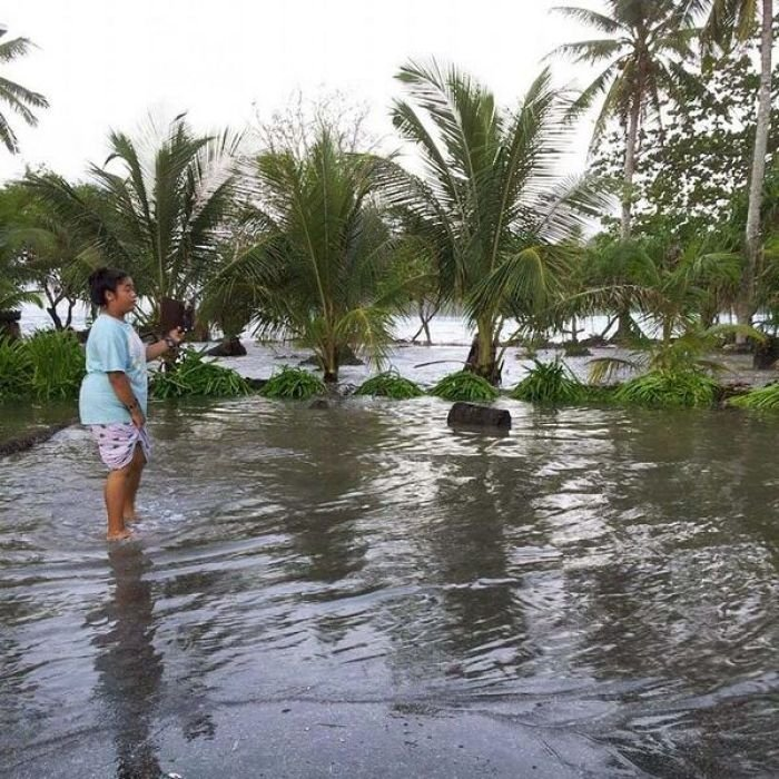 Flooding in Marshall Islands