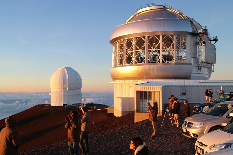 Astronomical observatories on Mauna Kea, Hawai'i