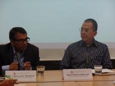 Dr. Vibhanshu Shekhar and DCM Arto Suryodipuro discuss the implications of changes to Indonesia's foreign policy aims under the Jokowi administration.