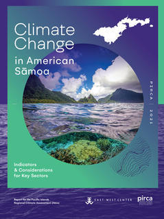 Climate Change in the American Samoa Report Cover