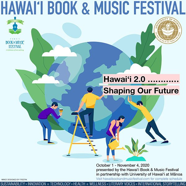 Hawaii Book and Music Festival poster