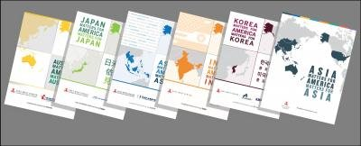 Covers of Asia Matters for America booklets