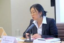 Dr. Masako Ikegami at the East-West Center in Washington