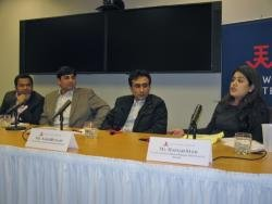(Click to enlarge) From Left to Right: Shabbir Ahmad, Mahboob Ali, Sajid Hussain, and Hafsah Syed.